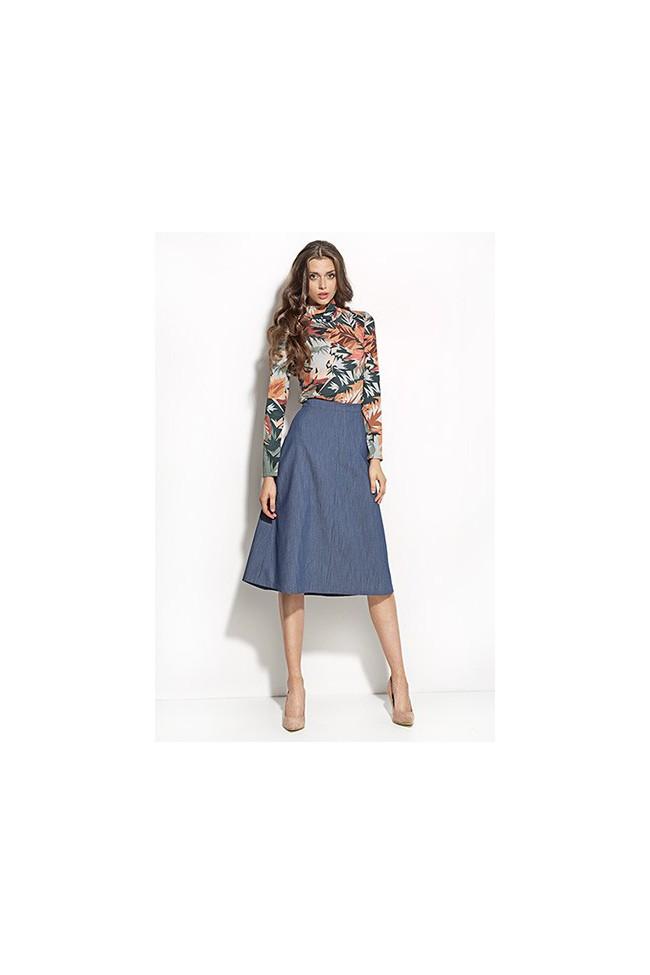 Dámská sukně Nife Sp25 modrá