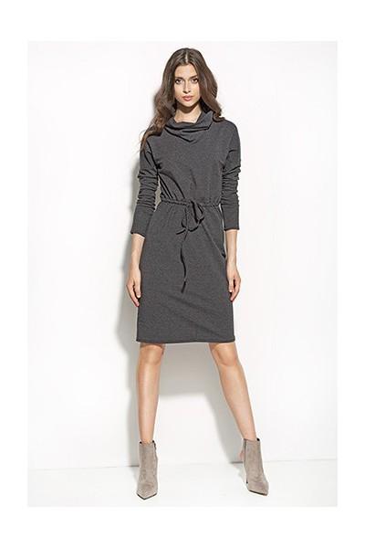 Dámské šaty Nife S57 grafit