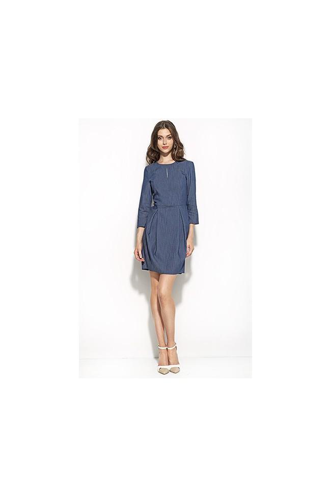 Dámské šaty Nife S59 modré