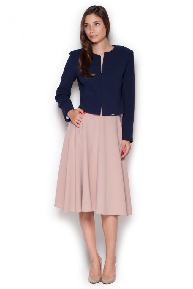 339b20f22929 Dámská sukně Figl M317 růžová - Forseti-fashion.cz