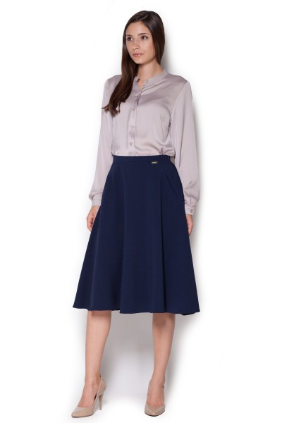 Dámská sukně Figl M317 granát - výprodej velikost S