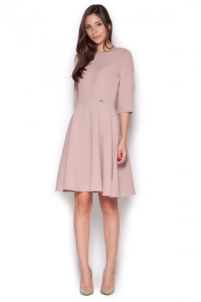 Dámské šaty Figl  M 327 růžové
