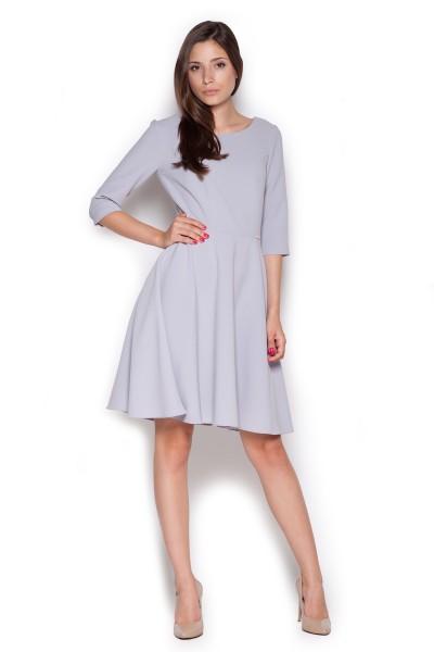 Dámské šaty Figl  M 327 šedá