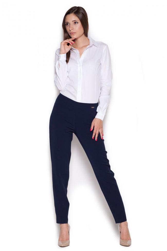 Dámské kalhoty Figl M328 granát