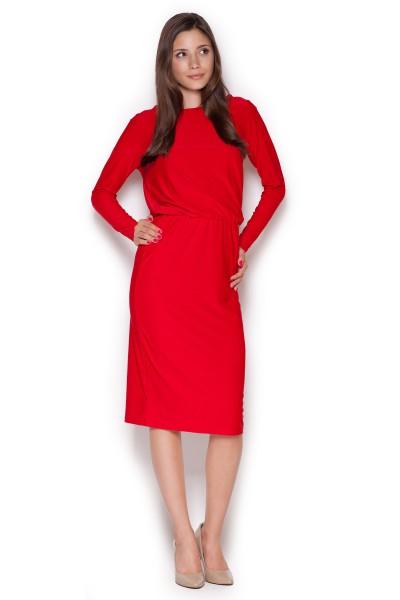 Dámské šaty Figl  M 326 červené