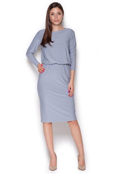 Dámské šaty Figl  M 326 šedé