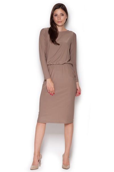 Dámské šaty Figl  M 326 béžové