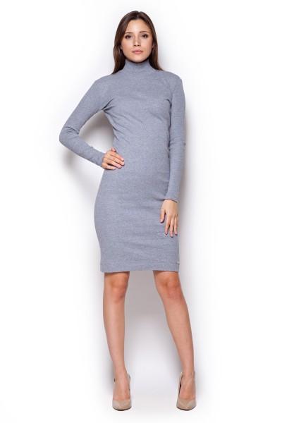 Dámské šaty Figl  M 332 šedé