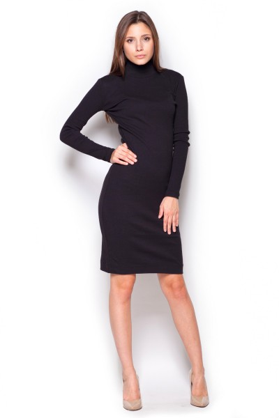 Dámské šaty Figl  M 332 černé