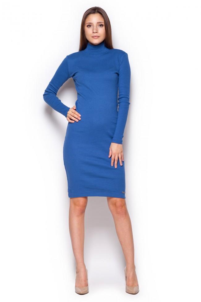 Dámské šaty Figl  M 332 nebeská
