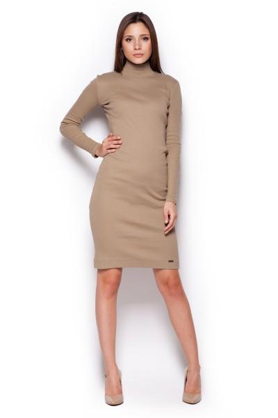 Dámské šaty Figl  M 332 béžová