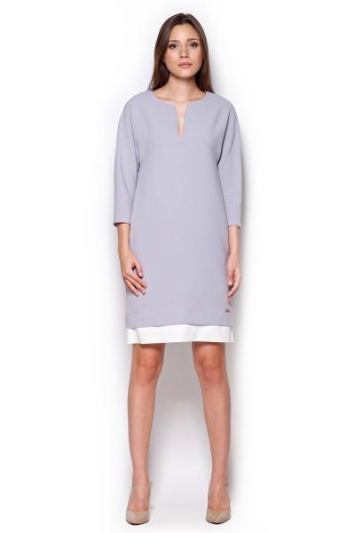 Dámské šaty Figl  M 333 šedé