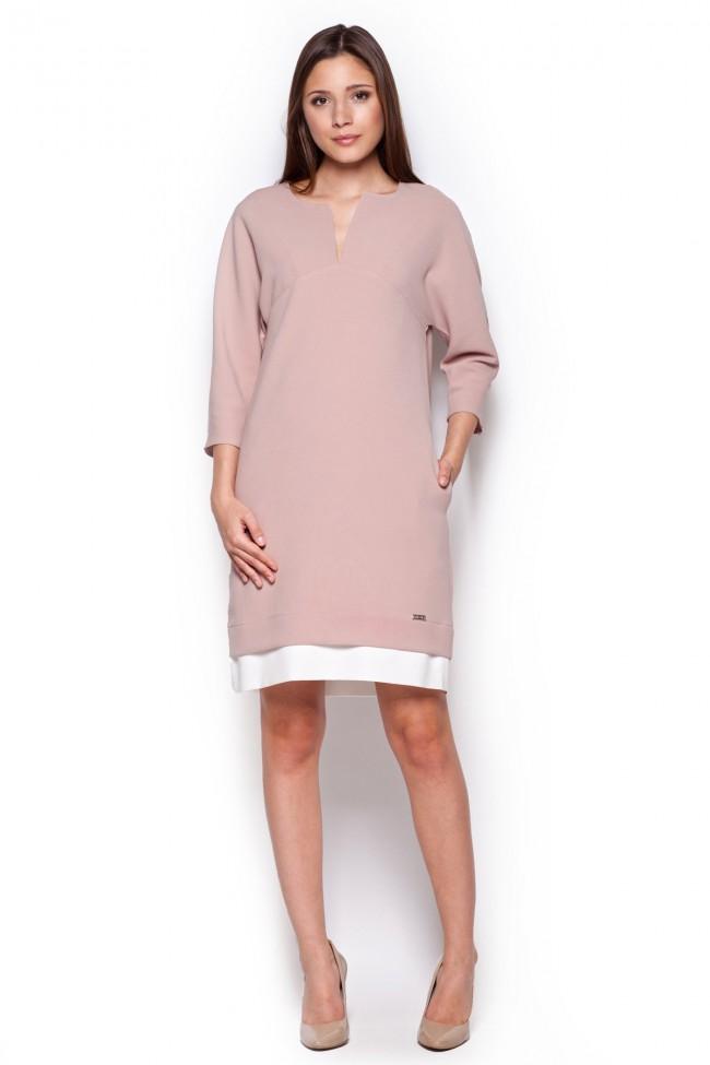 Dámské šaty Figl  M 333 růžové