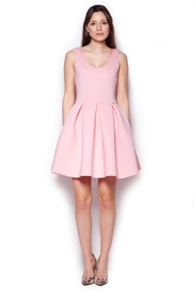 Dámské šaty Figl  M 344 růžová