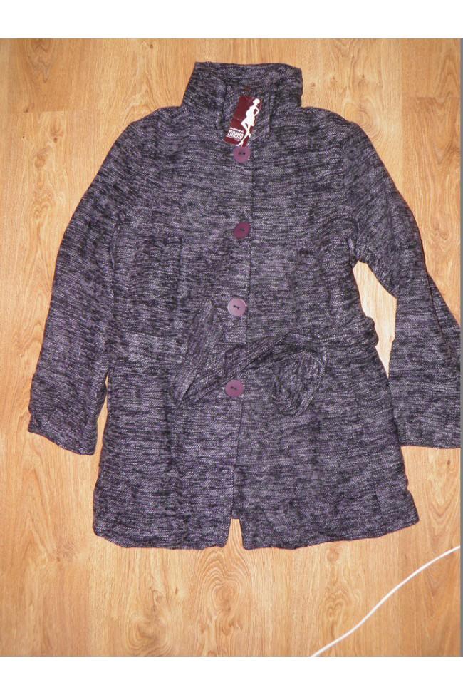 Těhotenský Kabát Mamma Tinello - violet