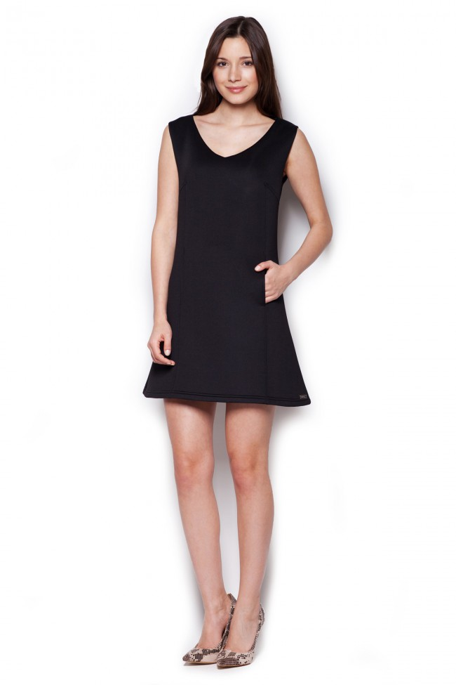 Dámské šaty Figl  M 349 šedé