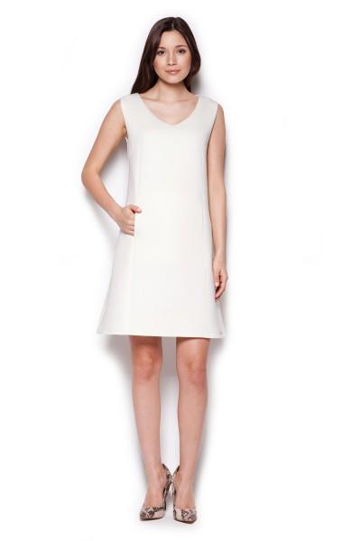 Dámské šaty Figl  M 349 ecru