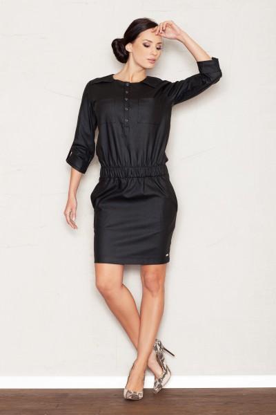 Dámské šaty Figl  M 360 černé