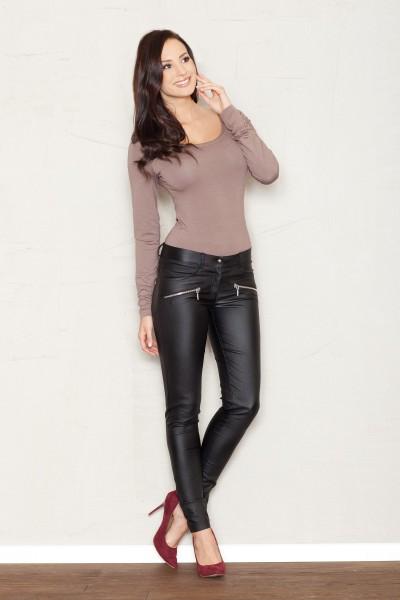 Dámské kalhoty Figl M361 černé