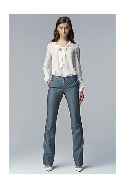 Dámské kalhoty Nife Sd 20 -modrá