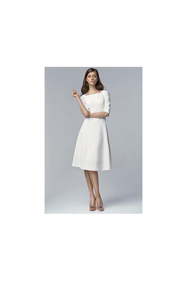 Dámské šaty Nife S63 ecru
