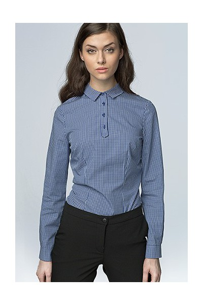 Dámská košile Nife K 46-granát kostka
