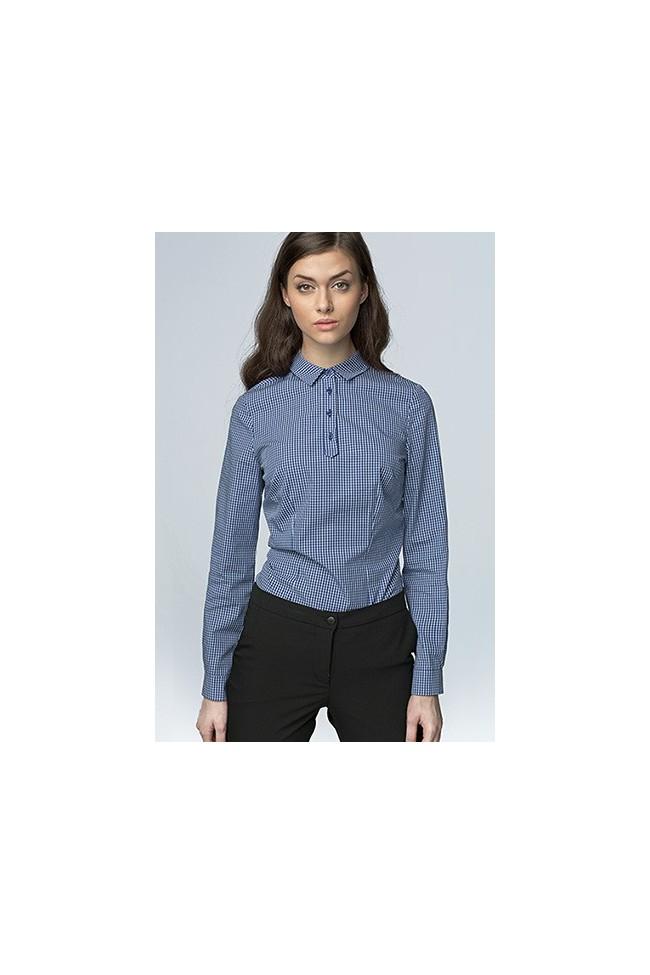 Dámská košile Nife K 46-modrá