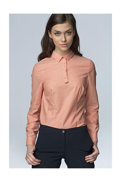 Dámská košile Nife K 46-lososová