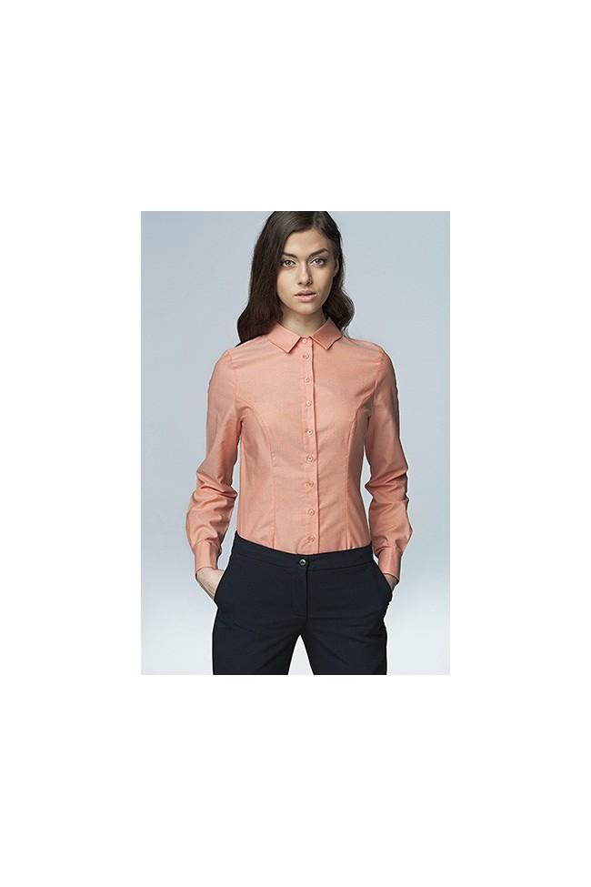 Dámská košile Nife K 43-lososová