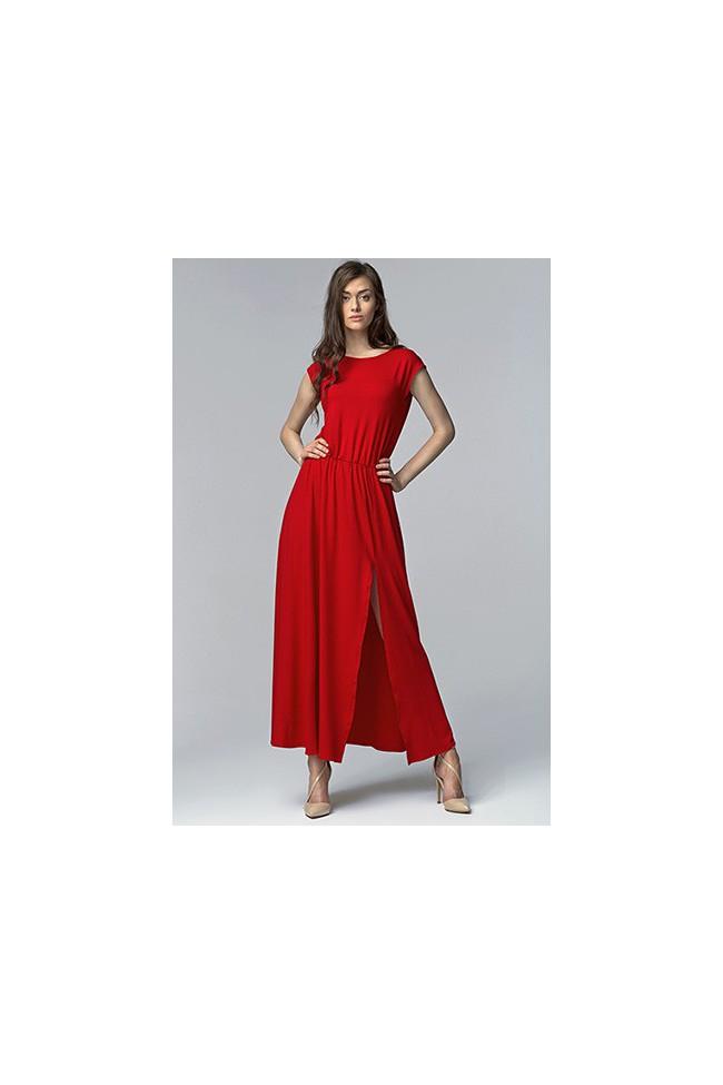 Dámské šaty Nife S61 červené