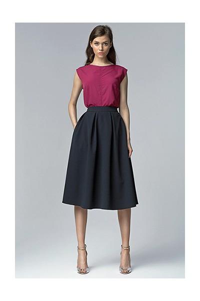 Dámská sukně Nife Sp27 granát