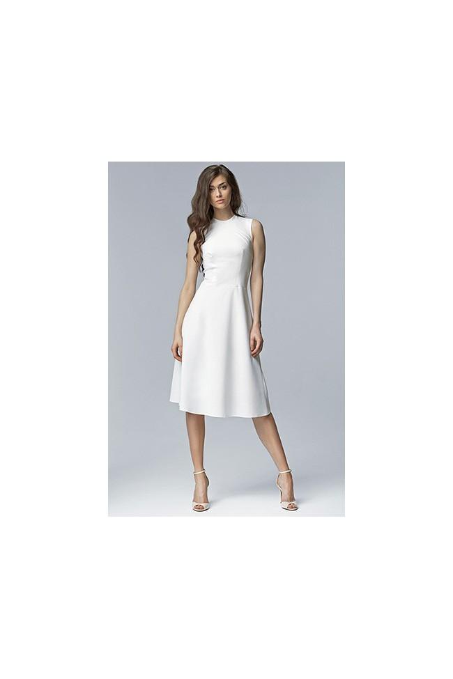 Dámské šaty Nife S62 ecru