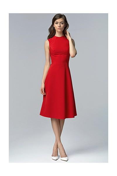 Dámské šaty Nife S62 červené