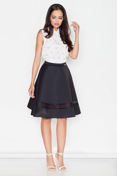 Dámská sukně Figl M 367 černá