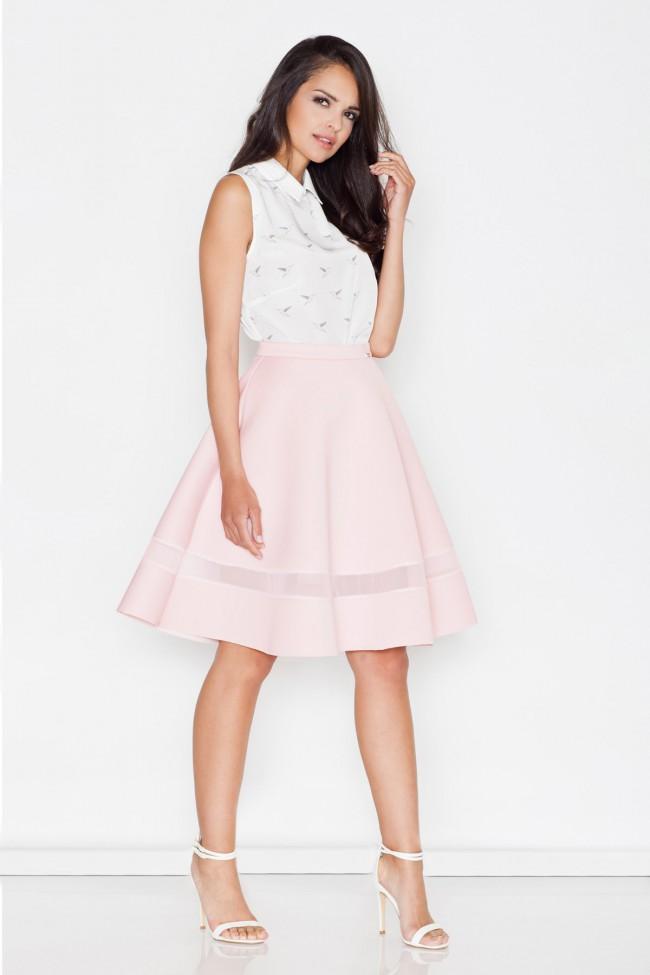 Dámská sukně Figl M 367 růžová