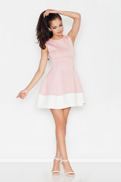 Dámské šaty Figl  M 373 růžové