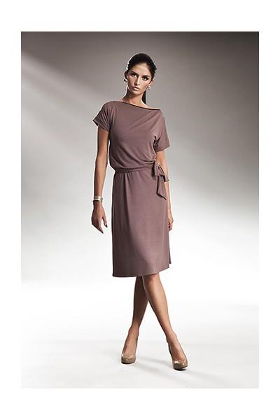 Dámské šaty Nife S13 moka
