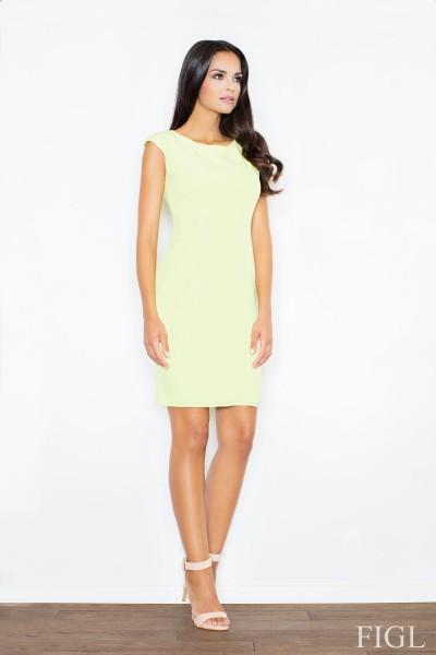 Dámské šaty Figl  M 378 světle zelená