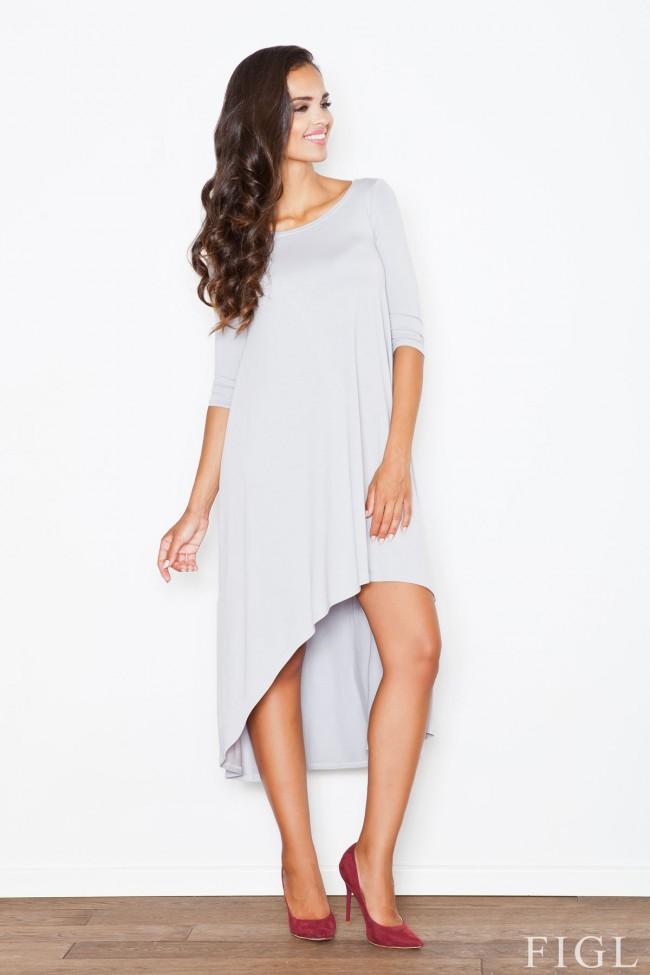 Dámské šaty Figl  M 392 šedé