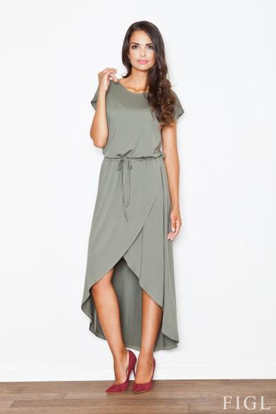 Dámské šaty Figl  M 394 olivové