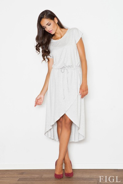 Dámské šaty Figl  M 394šedé