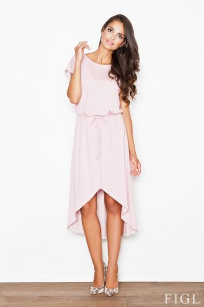 Dámské šaty Figl  M 394 růžové
