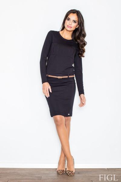 Dámské šaty Figl  M 414 černé