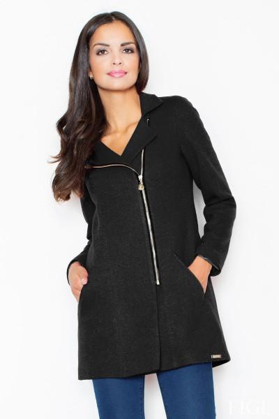 Dámský kabát Figl M 405 černá
