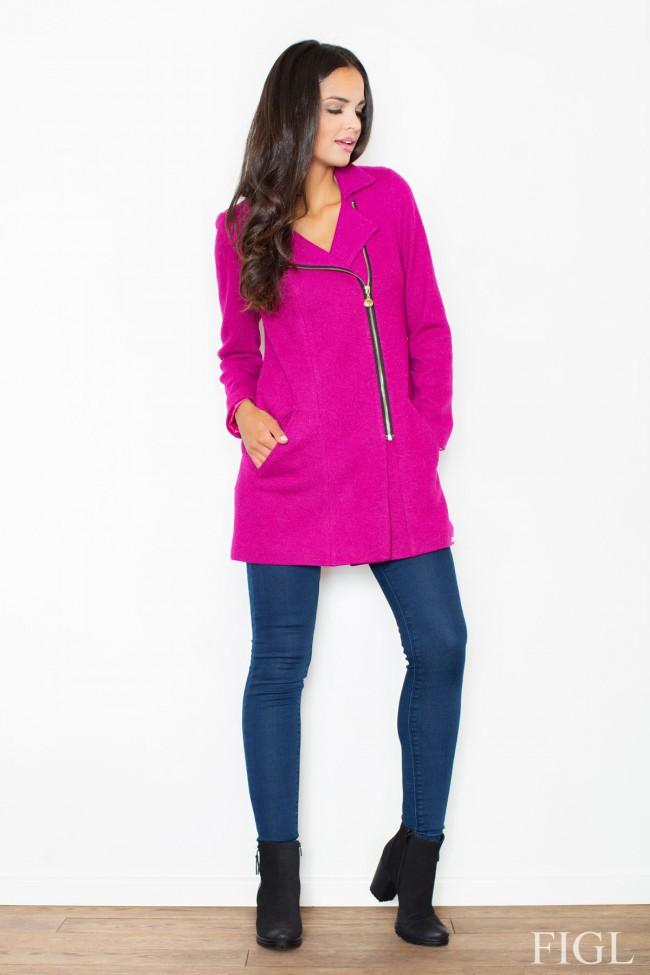 Dámský kabát Figl M 405 růžová