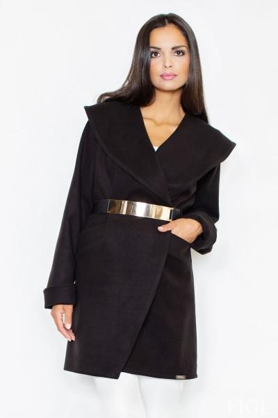 Dámský kabát Figl M 407 černá