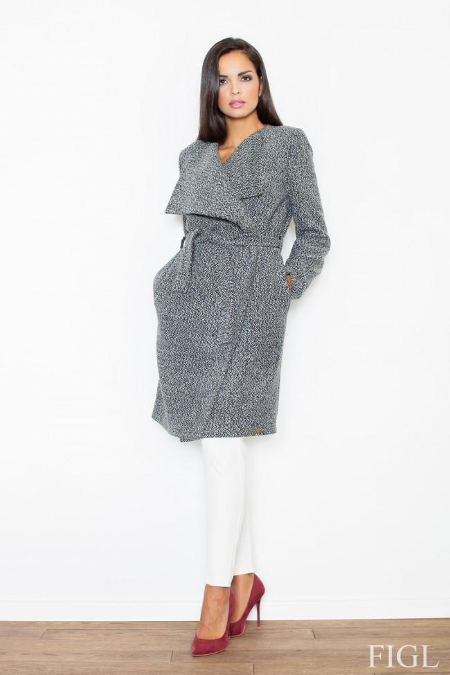 Dámský kabát Figl M 408 šedá