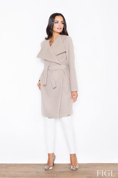 Dámský kabát Figl M 408 béžová
