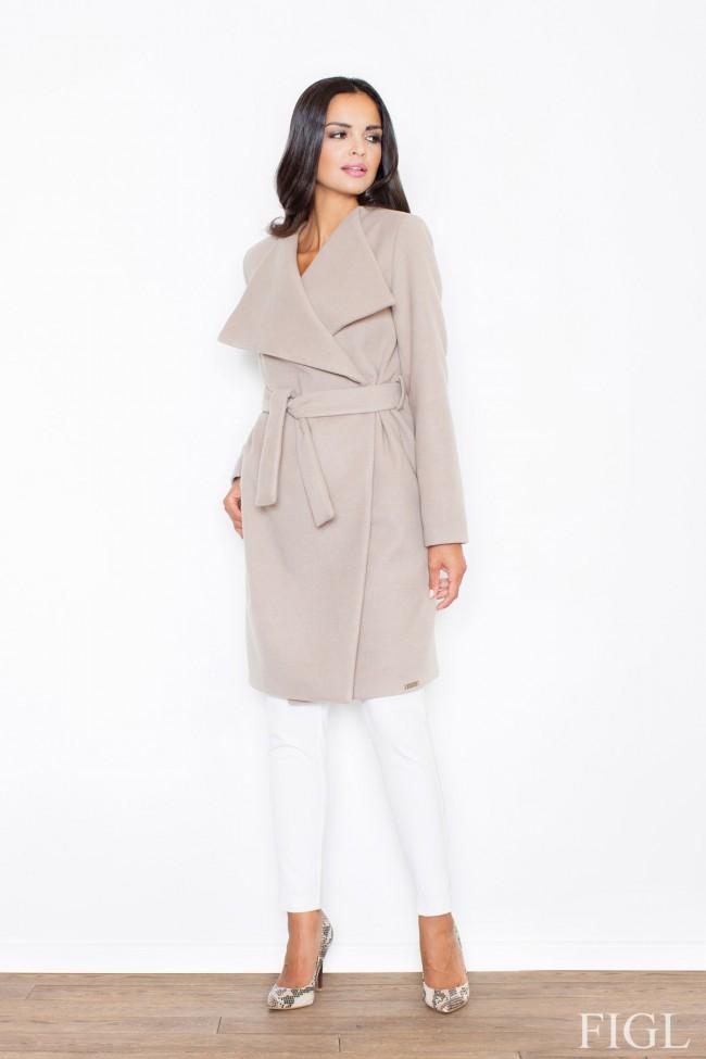 Dámský kabát Figl M 408 béžová - Forseti-fashion.cz 6fbd5c29268