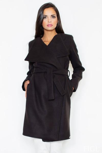 Dámský kabát Figl M 408 černá